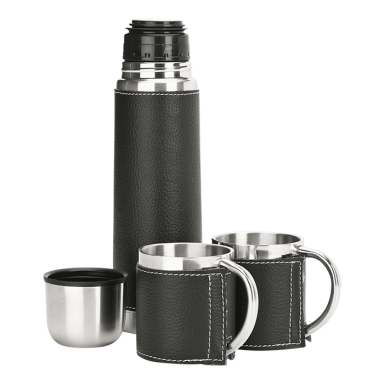 500ml Steel Flask and Mug Set