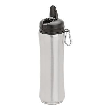 750ml Stainless Steel Bottle with Carabiner