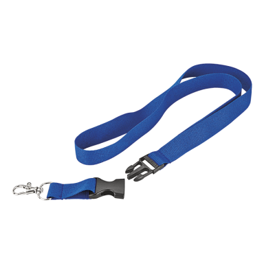 Woven Lanyard with Plastic Buckle