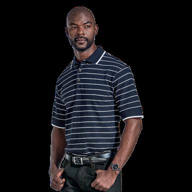 Lacoste Stripe Golfer
