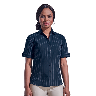 Ladies Civic Blouse Short Sleeve