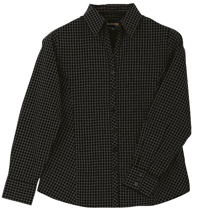 Ladies Pioneer Check Blouse Long Sleeve (LL-PI)