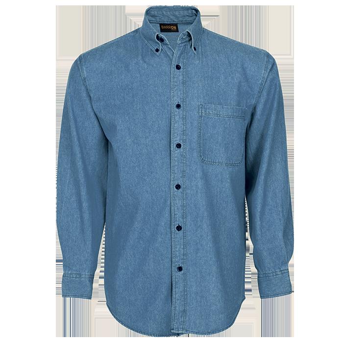 Mens Denim Shirt Long Sleeve (LO-DEN)
