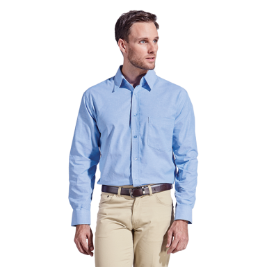 Mens Oxford Lounge Long Sleeve