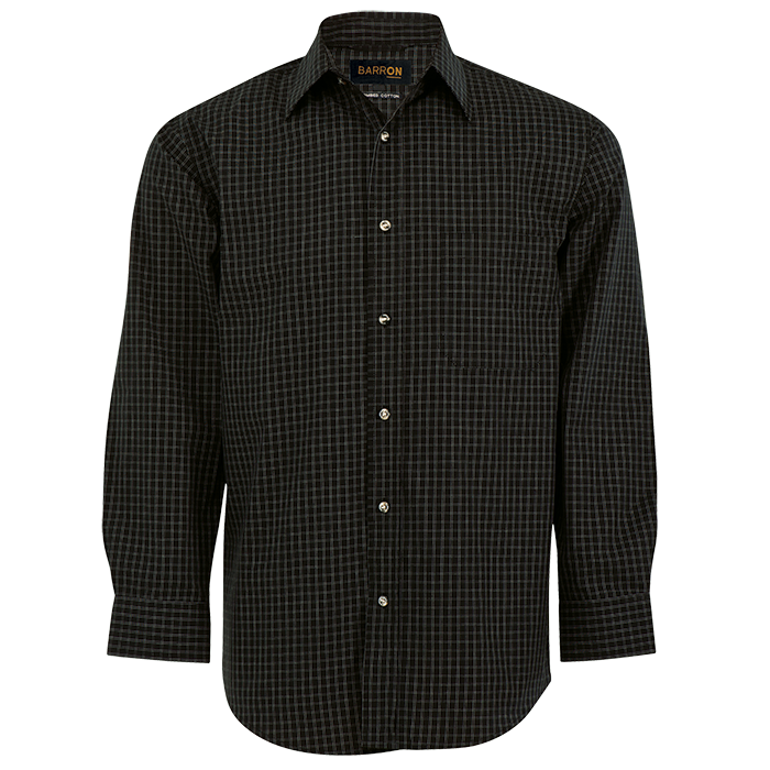 Mens Pioneer Check Lounge Long Sleeve (LO-PI)
