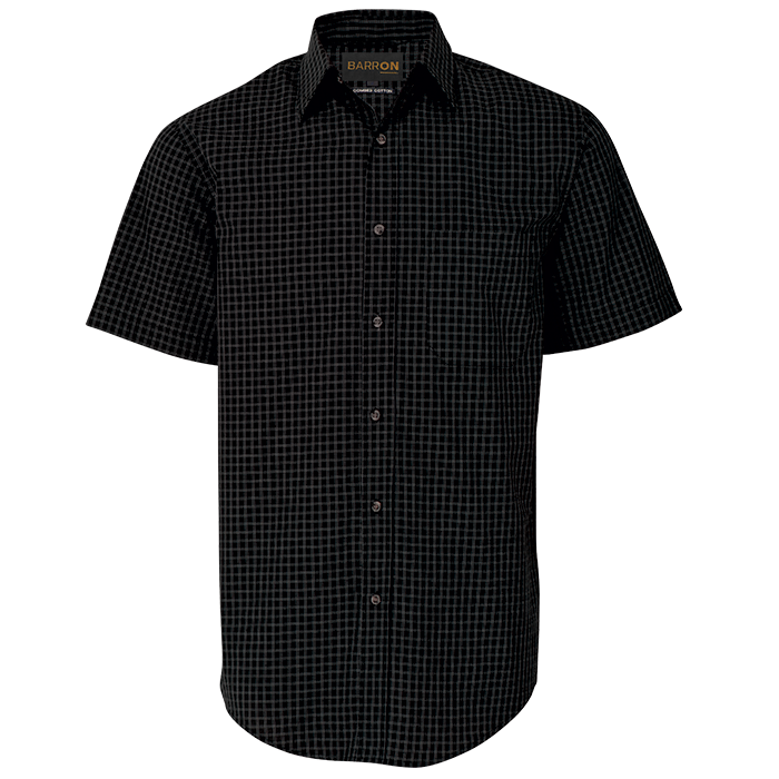 Mens Pioneer Check Lounge Short Sleeve (LO-PI)