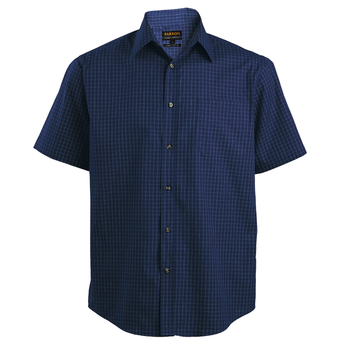 Mens Pioneer Check Lounge Short Sleeve (LO-PI)