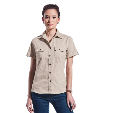 Ladies Plain Bush Shirt