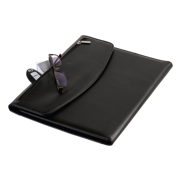 BF0029 - A4 Folio with Calculator and Zippered Flap Pocket - 40 pages