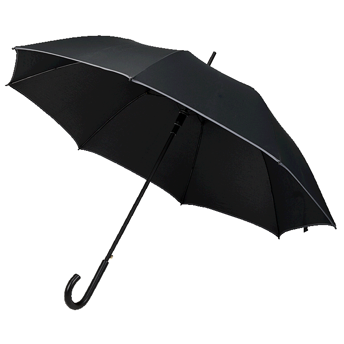 Umbrella with Wood Shaft and Handle