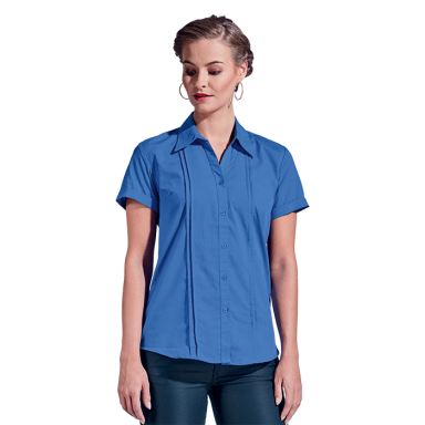 Ladies Vogue Blouse Short Sleeve