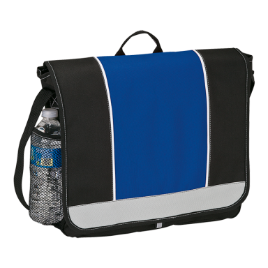 Top Flap Messenger Bag - 600D Poly
