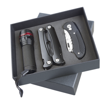 Torch Multi Tool and Knife Gift Set