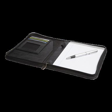 Soft PU A5 Zippered Folder