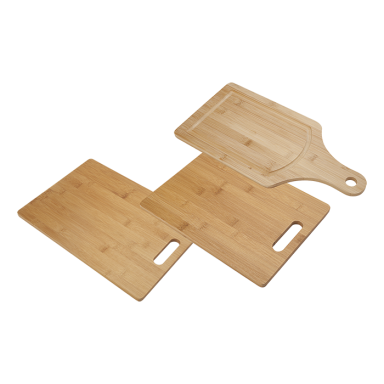 3pc Bamboo Cutting Board Set