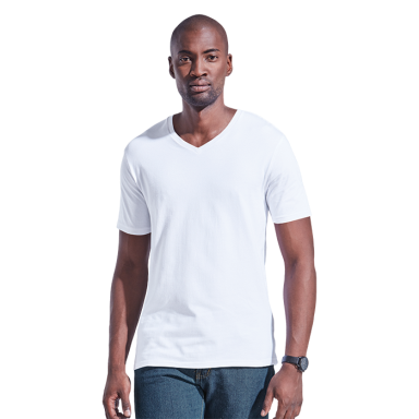 Mens 170g Slim Fit V-Neck T-Shirt