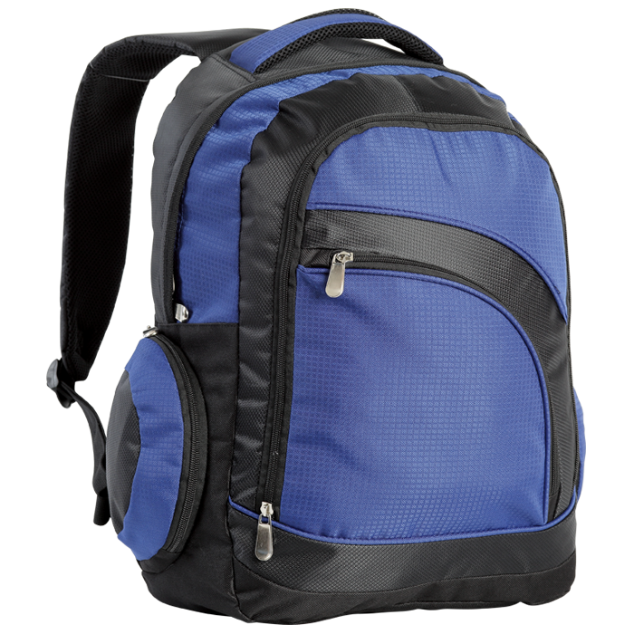 Curved Front Pocket Backpack