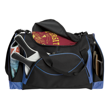 Curved Front Pocket Sports Bag