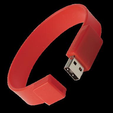 Silicone Wristband USB