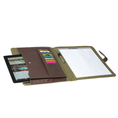 A4 Canvas Folder