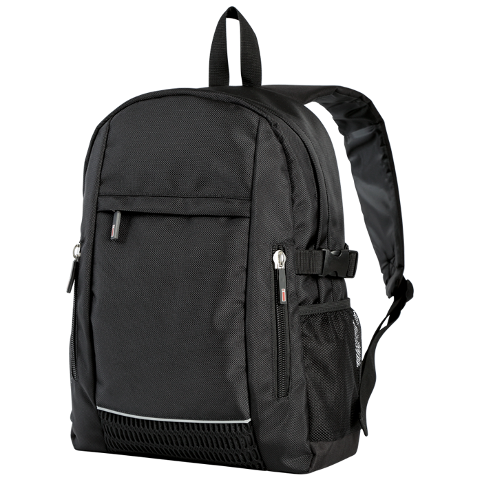 Double Zippered Front Pocket Backpack