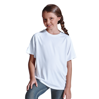 135g Kiddies Polyester T-Shirt