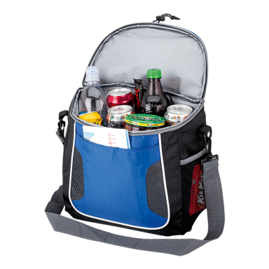 2 Tone 18 Can Cooler with Waterproof iPad Pocket