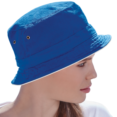 Bucket Reversible Cotton Hat