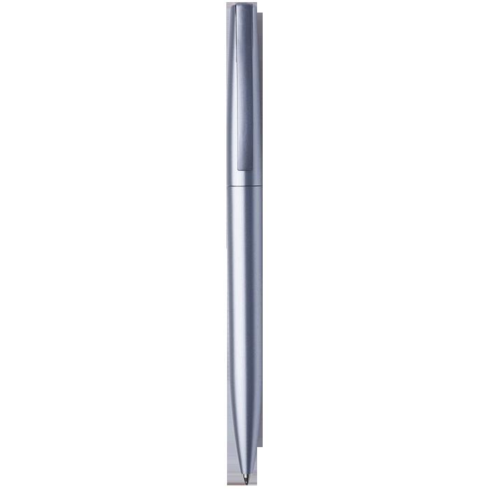 Silver Clip Metallic Ballpoint Pen