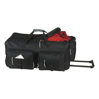 BB0161 - Dual Front Pocket Rolling Travel Duffel