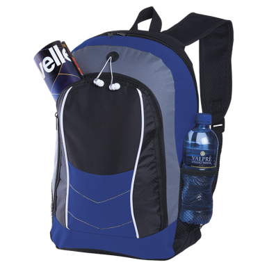 Arrow Design Backpack with Front Flap