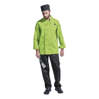 Mens Savona Long Sleeve Chef Jacket