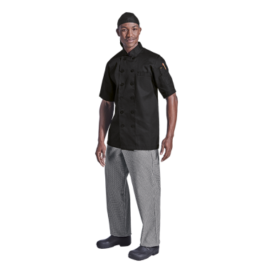 Savona Short Sleeve Chef Jacket