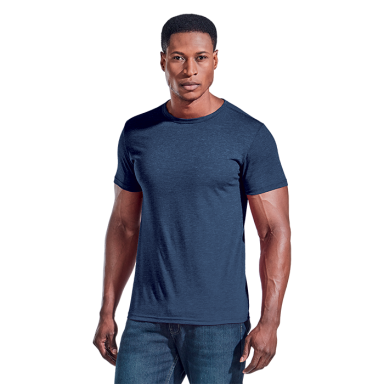 Mens Melange Crew Neck T-Shirt