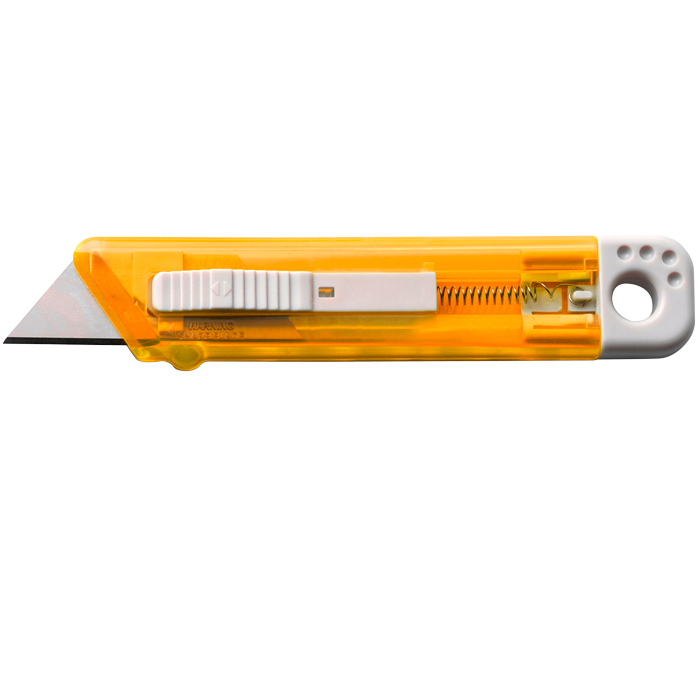 Translucent Knife with Safety Mechanism