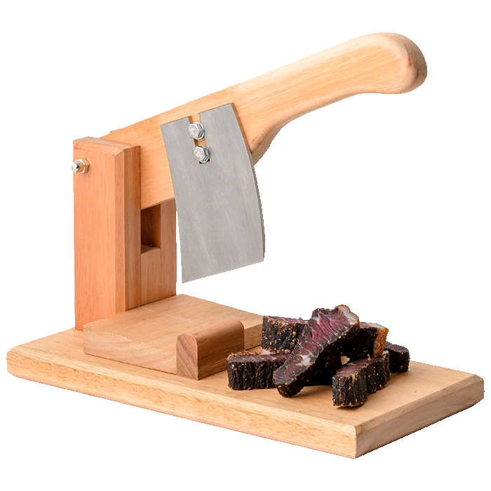 Large Wooden Biltong Cutter