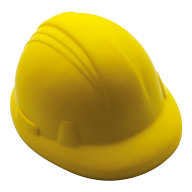 Hard Hat Shaped Stress Ball