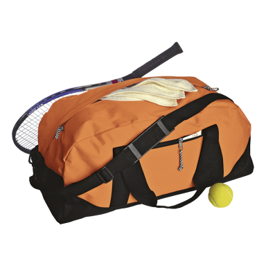 Two-Tone Sports Duffel Bag
