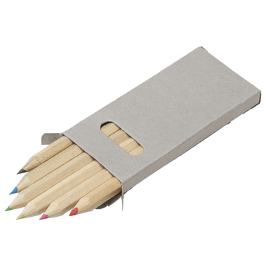 Coloured Pencils - Set of 6