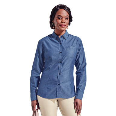 Ladies Chester Long Sleeve Blouse