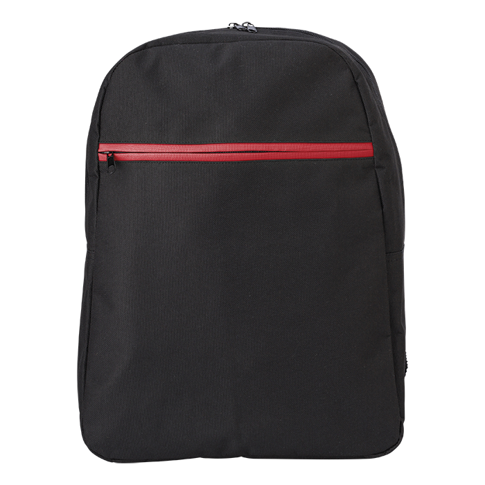 Coloured Zipper 600D Backpack