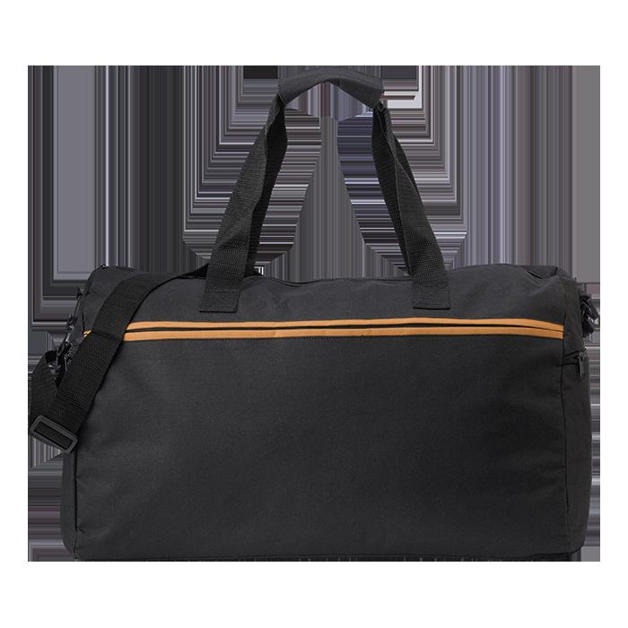 Coloured Zipper 600D Sports Bag