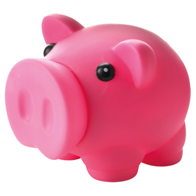 Piggy Bank with Nose Stopper