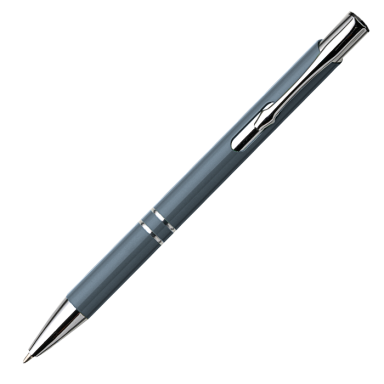 Aluminium Ballpoint Pen with Arrow Shaped Clip
