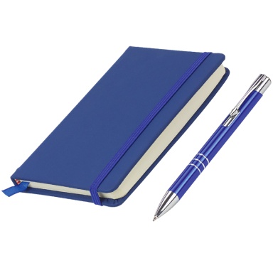 Pen and A6 Notebook Gift Set
