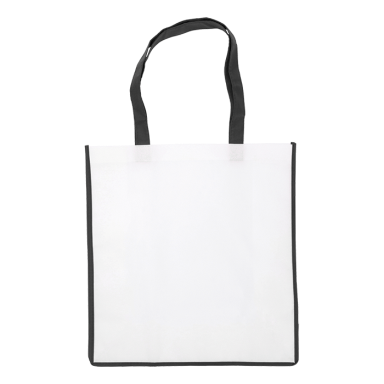 Non Woven Shopper with Coloured Trim