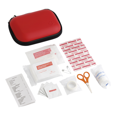 16 Piece First Aid Kit in EVA Case