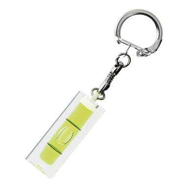 Spirit Level Keychain