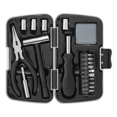 21 Piece Tool Set in Plastic Case