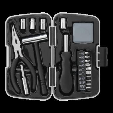 21 Piece Tool Set in Plastic Case